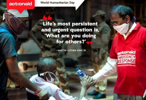 Today is the World Humanitarian Day 2020
