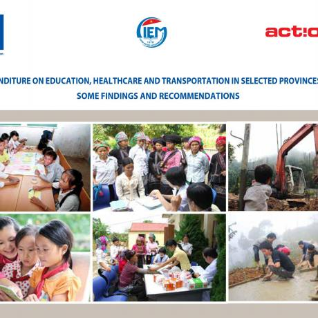 Public expenditure on education, healthcare and transportation in selected province in Vietnam: Some findings and recommendations