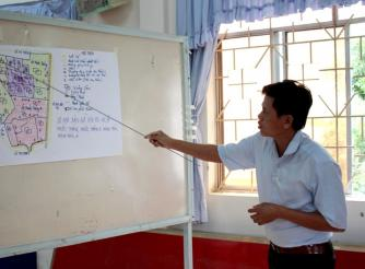 """Disaster Risk Management and Climate Change Adaptation"" Dong Hai district, Bac Lieu province in"